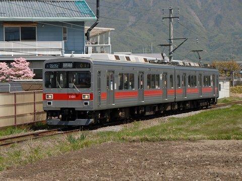 上田電鉄1000系の画像