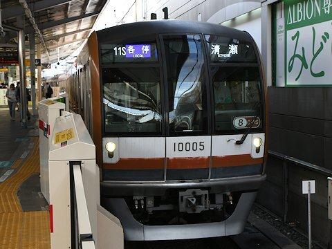 東京メトロ10000系 10105F 8連化の画像