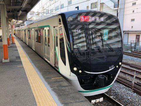 2020系 東武線内営業運転開始の画像