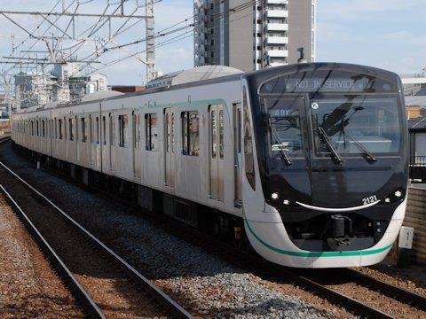2020系 東武スカイツリーライン・東武日光線内回送の画像