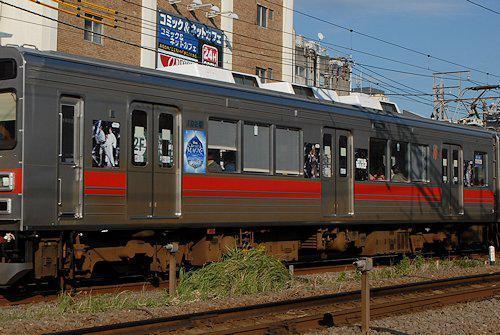 ディズニークリスタルマジックラッピング電車 池上線・東急多摩川線編の画像