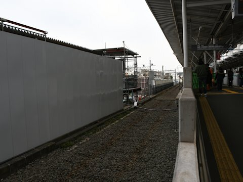 奥沢駅改良工事 2020年2月編の画像