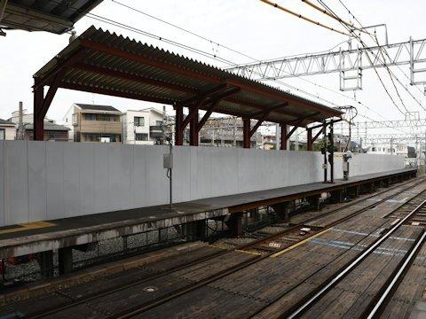 奥沢駅改良工事 2020年10月編の画像