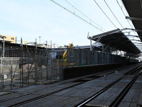 奥沢駅改良工事 2021年2月編の画像