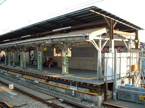 旗の台駅改良工事 2003年10月編の画像