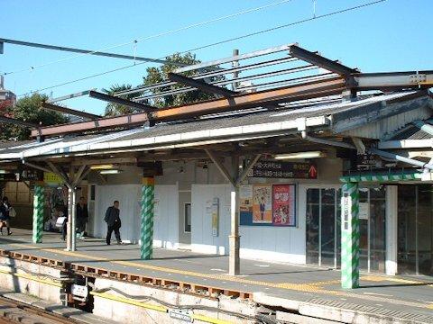 旗の台駅改良工事 2004年11月編の画像