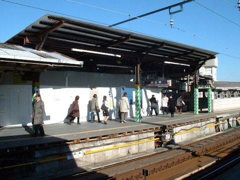 旗の台駅改良工事 2005年1月編の画像