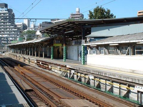 旗の台駅改良工事 2005年10月編の画像