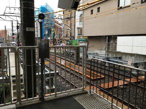 大井町線ホーム延伸工事 2017年6月自由が丘編の画像