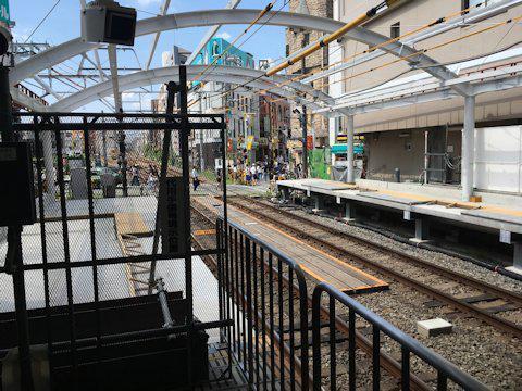 大井町線ホーム延伸工事 2017年9月自由が丘編の画像