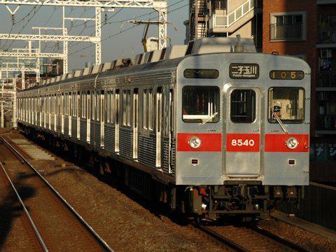 大井町線8500系の引退の画像
