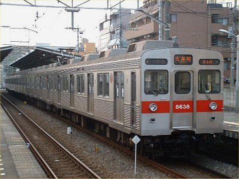 大井町線8500系外観の変化 PART1の画像