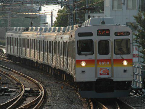 大井町線8500系外観の変化 PART4の画像