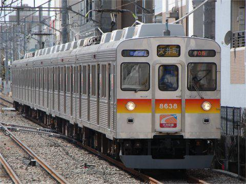 大井町線8500系外観の変化 PART5の画像